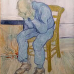 Painting by Van Gogh: Old Man